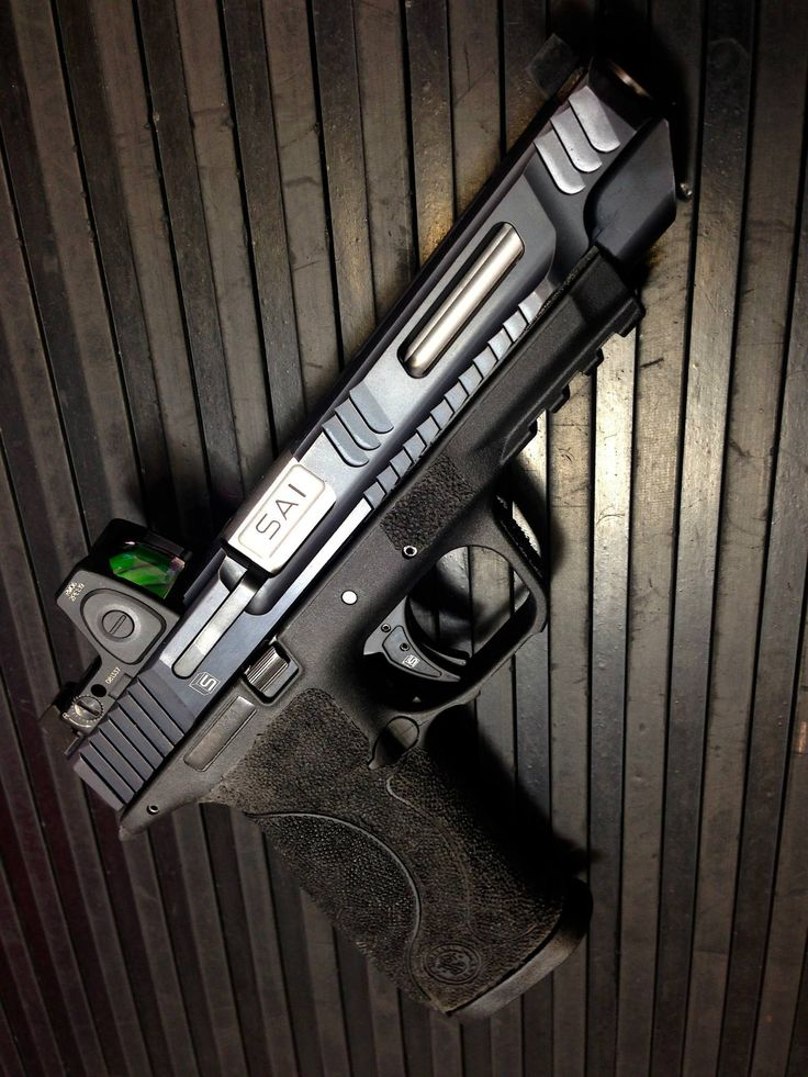 Salient Arms M&P Pro Series rocking the RMR