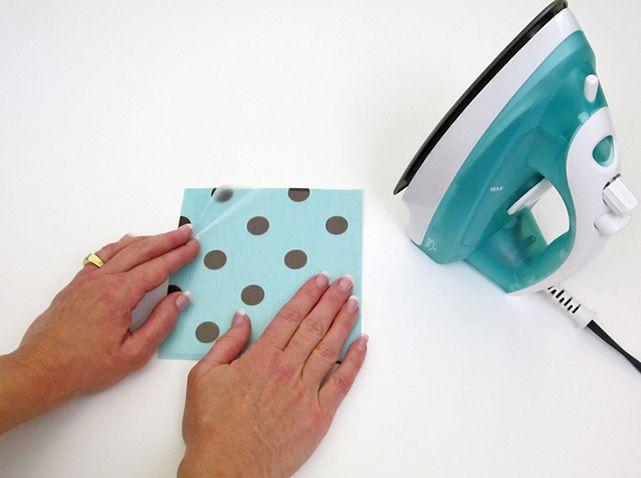 Como impermeabilizar tecido com papel contact.