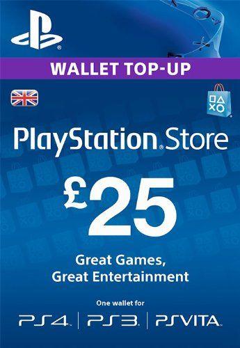 PSN CARD 25 GBP WALLET TOP UP [PSN Code - UK account] Sony http://www.amazon.co.uk/dp/B00GUXZV7S/ref=cm_sw_r_pi_dp_ny2xwb02XRBJV