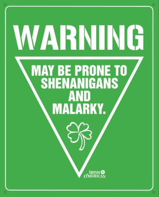 An Irish tradition :)