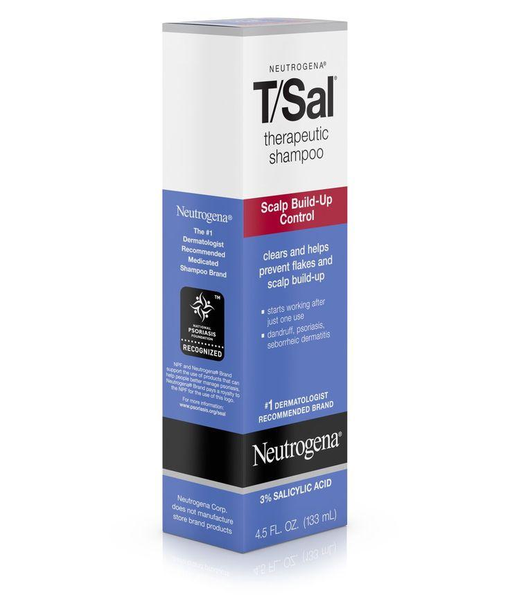Title Tag T/Sal® Therapeutic Shampoo Scalp Build-Up Control | Neutrogena®