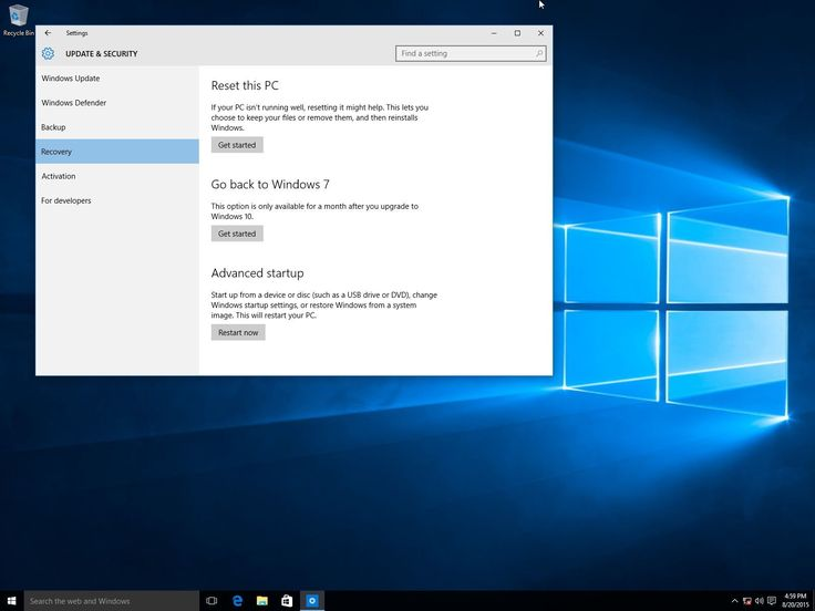 How To Downgrade From Pre-installed Windows 10 To Windows 7 Or 8.1 The much awaited upgrade to Microsoft Windows 10 is finally here! The successor to Windows 8.1 is a free upgrade and comes with a lot of cool functions such as the Microsoft Edge and Microsoft's premiere voice directed personal assistant:Cortana. But things might not click between you and your p... ------------------------- Read More http://itmagazine.com/downgrade-pre-installed-windows-10-windows-7-8-1/