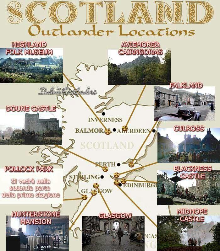 Outlander filming sites