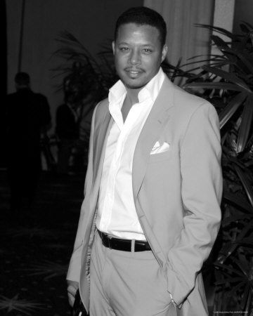 Terrence Howard  I could just listen to him talk for hours.