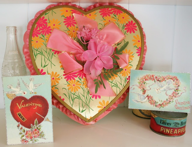 vintage valentines decorations - Vintage Valentine Decorations