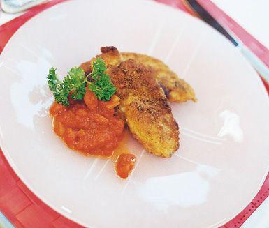 Kalkonschnitzel med tomatsås är ett angenämt recept för dig som tycker mycket om…