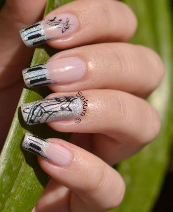 A little long for my taste, but I think this would look adorable on shorter nails as well.