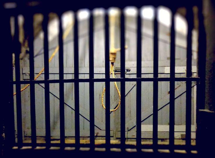 Dormir dans une prison hantée à Ottawa, Ontario, Canada.