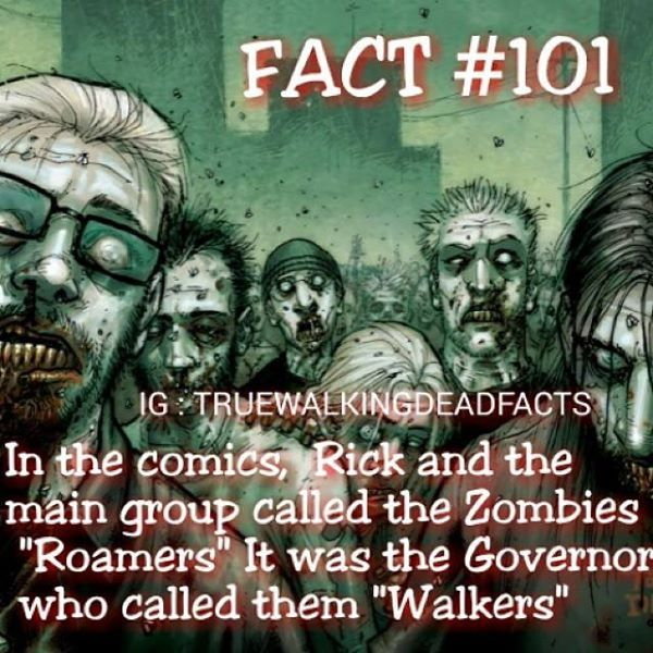 When they called them roamers when i read the comics i was like what!!!!!!??? It shocked me