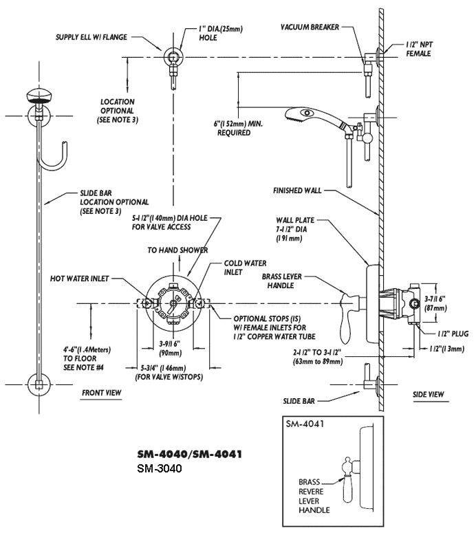 Image Result For Shower Valve Mounting Height