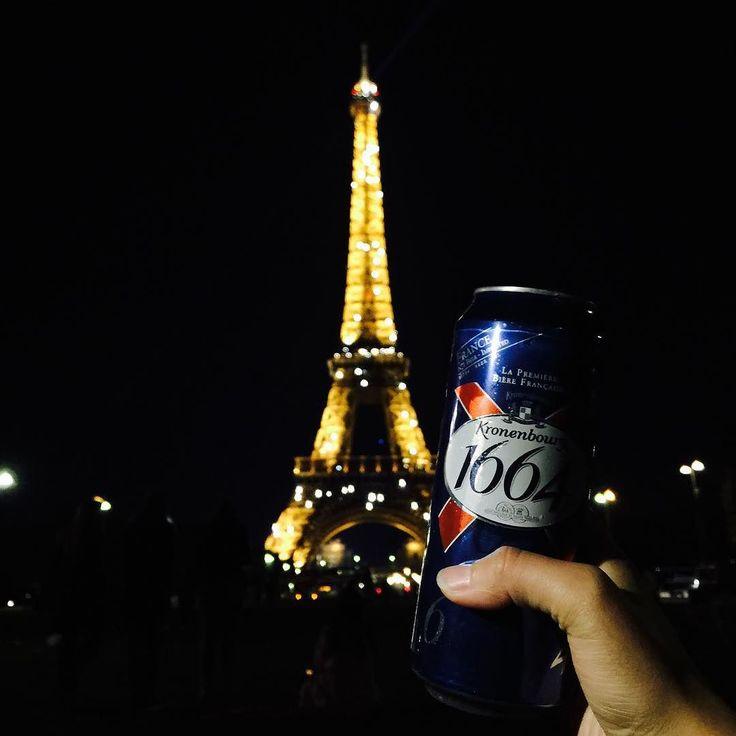 다시 또 La Tour Eiffe #latoureiffel #france #paris #trip #travel #voyage #eiffeltower #beer #1664 #blanc #맥주 #블랑 #파리 #프랑스 #에펠탑 #블랑맥주 #술스타그램 #여행스타그램 by eunghg