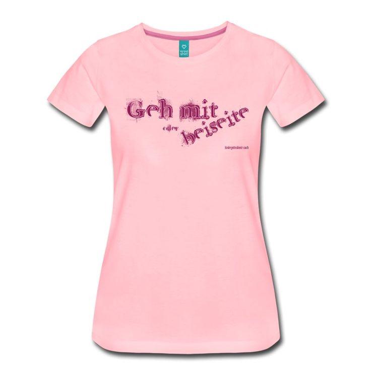 Frauen Premium T Shirt   Pink