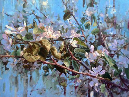 Apple tree. Oil on canvas 120x160cm.2016