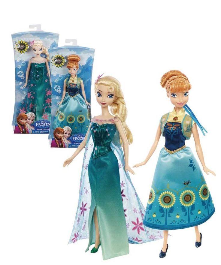 """Принцессы Анна и Эльза (из м/ф """"Холодное сердце"""") Сказочные принцессы Анна и Эльза поведают вам секреты волшебства и расскажут вам о своих приключениях!  #frozen #disney #Disney_Princess #принцессы #диснеевские_принцессы #дисней #куклы"""