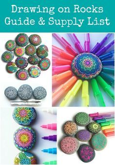 Thrive 360 Living: Tips and Tools for Drawing on Rocks
