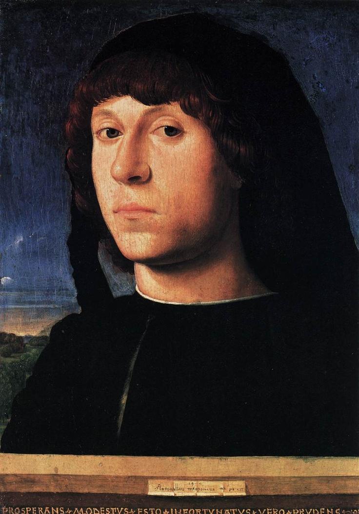 Antonello Da Messina Portrait of a man