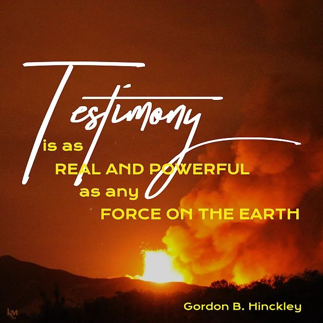 Gordon B. Hinckley quote (from Lesson 9) #lds #quotes