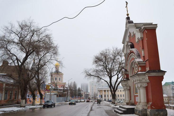 Ворота, оставшиеся от Крестовоздвиженского женского монастыря. Саратов