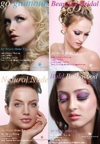 Different makeup looks with Airbrush makeup