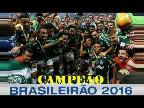 Relembre a Campanha Palmeiras Enea Campeão Brasileiro 2016 - Campeão do ...