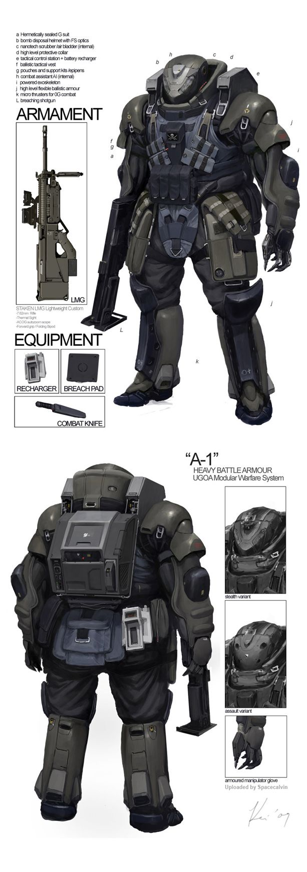 busca el tutorial.... del fusil adaptalo para lanzar los dardos...Space_Vagabonds Assaulter by Ukitakumuki