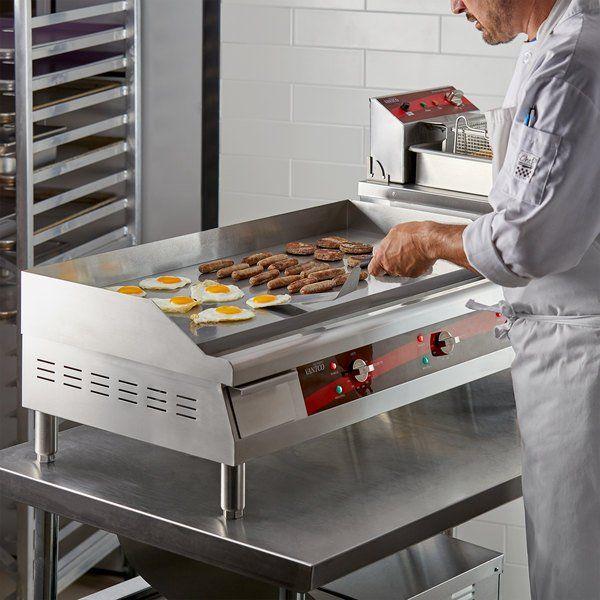 Avantco Eg36n 36 Electric Countertop Griddle In 2020