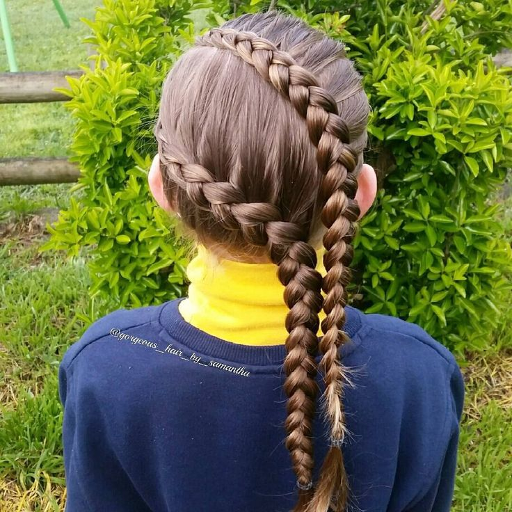 A diagonal #dutchbraid and #dutchlacebraid on S for school today, this would make a great sport or swimming style 😉 . . #schoolhairstyles #schoolhairideas #kidshairstyles #kidshairideas #cutegirlshairstyle #cutegirlshairideas #littlegirlsbraids #braidinspiration #cghphotofeature #tophairfeatures #braids4girls #girlshairstyles #ab_feature #inspirationalbraids #360hairstyles #featuremybraids #see_your_braids #sweetheartshairdesign #braidsforlittlegirls #braidsbyu #lrbfeatureme…