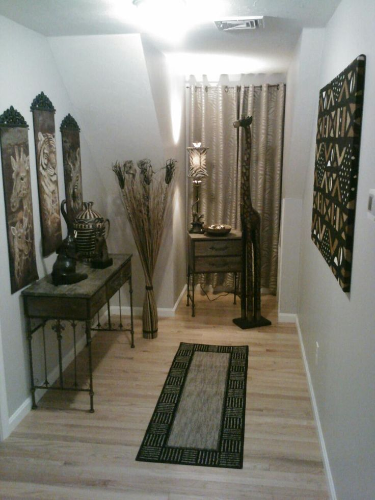 96 best african inspired decor images on pinterest for African inspired living room ideas