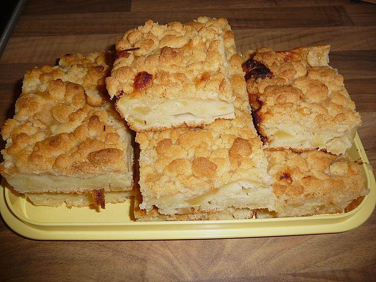 Apfel - Streuselkuchen in zwei Variationen