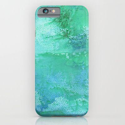 Laguna Blue iPhone & iPod Case by Alina Sevchenko - $35.00