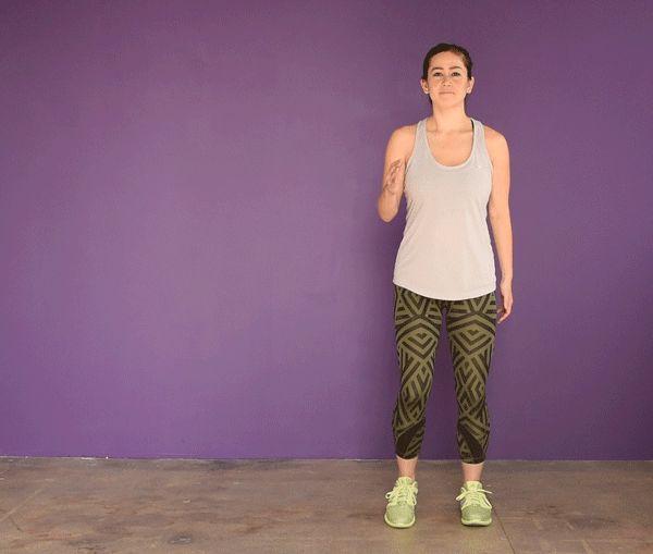 Corrida com elevação dos joelhos   Nove exercícios de cardio para quem odeia correr e quer queimar calorias