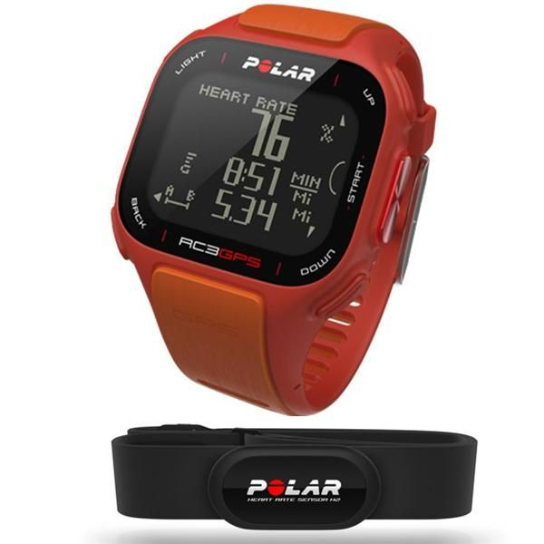 http://www.heartratewatchcompany.com/polar-rc3-orange-hrm-p/prc3ohr.htm - Polar RC3 GPS watch in orange with heart rate.