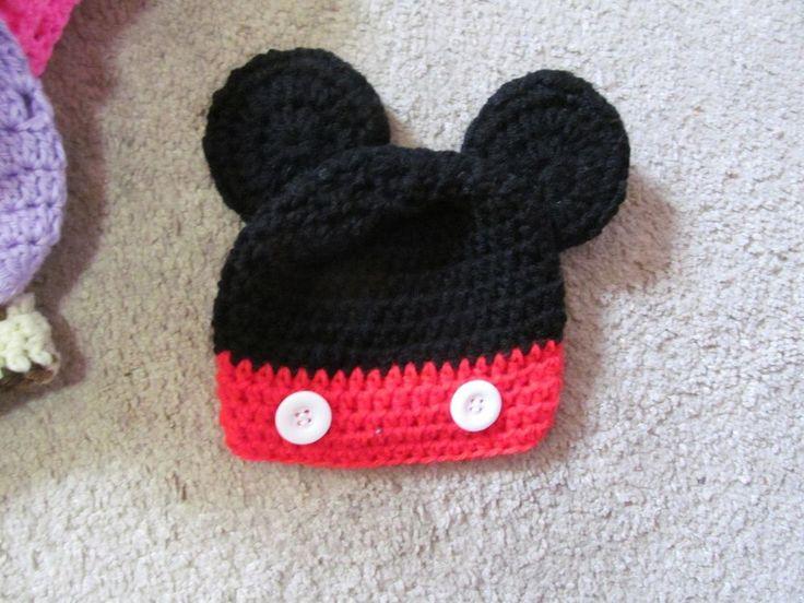 Crochet Mouse cap USD eBay World USD Pinterest Crochet ...