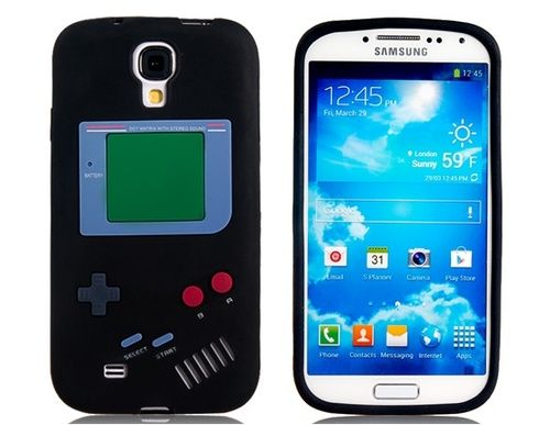 Silicone Gameboy Case for Samsung Galaxy S4 i9500