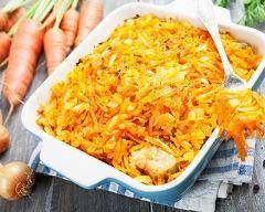 Gratin de poisson aux carottes (facile, rapide) - Une recette CuisineAZ