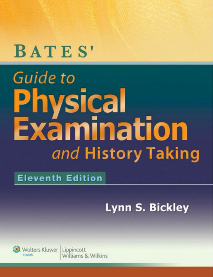 I'm selling Bates' Guide to Physical Examination and History-Taking by Lynn Bickley MD - $40.00 #onselz