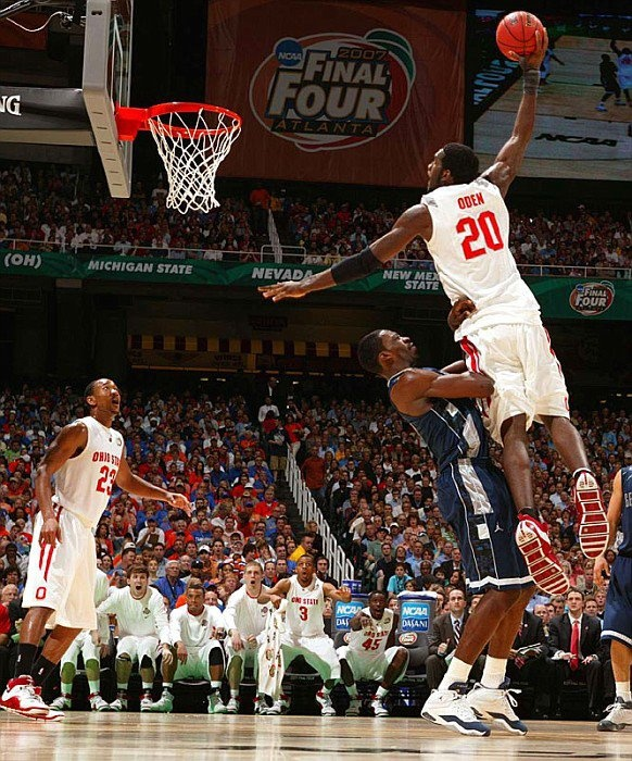 Greg Oden - 2007 Final Four. Wish he was still this good and no injuries!