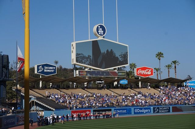 Come watch the #Dodgers CRUSH the #Padres today for #Lunch. We have the #MLB package for all your #BaseballGames