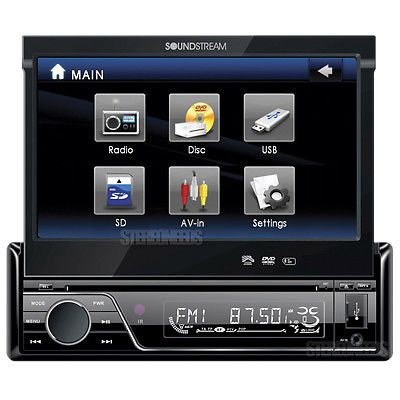 Vehicle Electronics And GPS: Soundstream Vir-7830 7 Touch Screen Tft Monitor Car Dvd/Cd/Aux/Mp3/Usb Player -> BUY IT NOW ONLY: $104.9 on eBay!