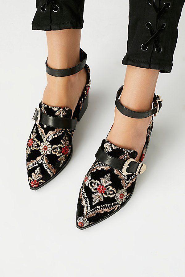 detaillierte Schuhe