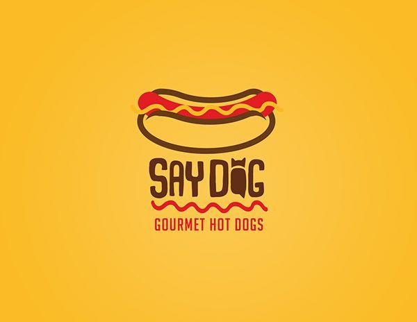 Logo Proposals For Say Dog Gourmet Hot Dogs In Chile On Behance Nombres De Restaurante Nombre De Negocios Restaurante De Hamburguesas