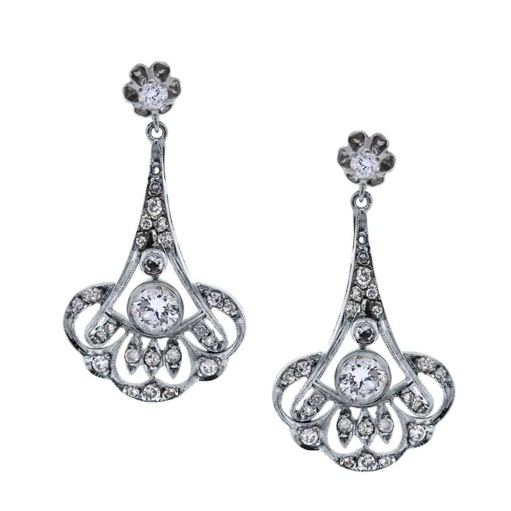 246 best vintage jewelry images on Pinterest | Beautiful, Flower ...