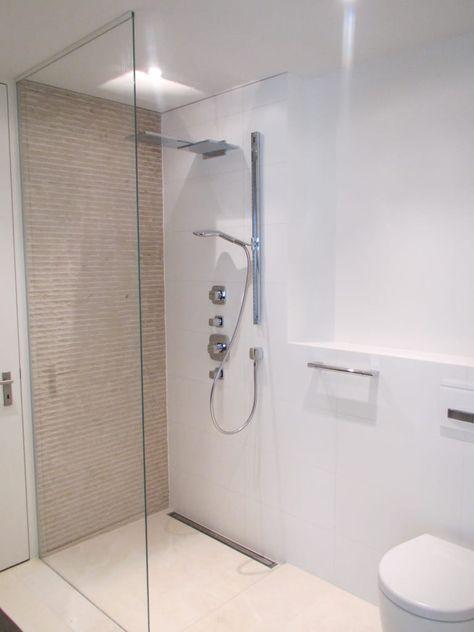 Die besten 25+ Offene duschen Ideen auf Pinterest Offene duschen - das moderne badezimmer typische dinge