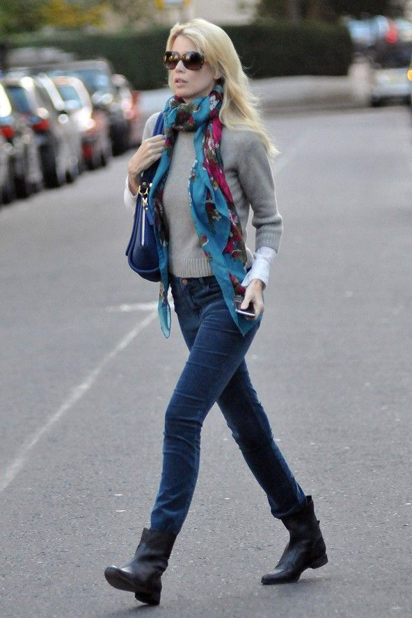 flat ankle boots with jeans - photo #6