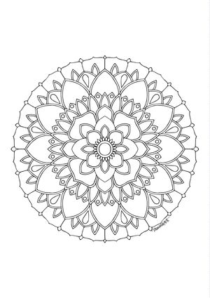Adult Colouring Pages And Hand Drawn Prints Art Therapy Coloring Colour Meditation