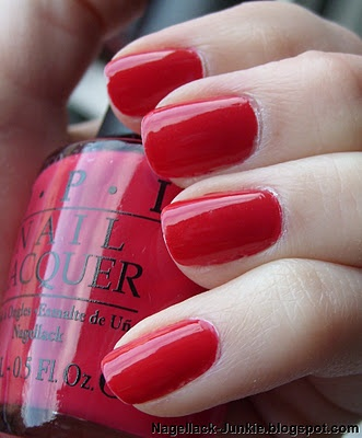 OPI Dutch tulips...my all time favorite polish! The best of both red and pink, depending on the light!