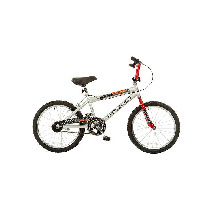 Boys Titan Tomcat 20-in. BMX Bike, Blue