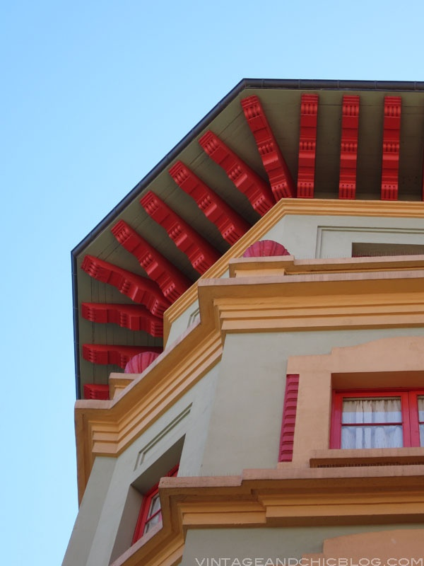 This is Gijón.  Great colorful houses.