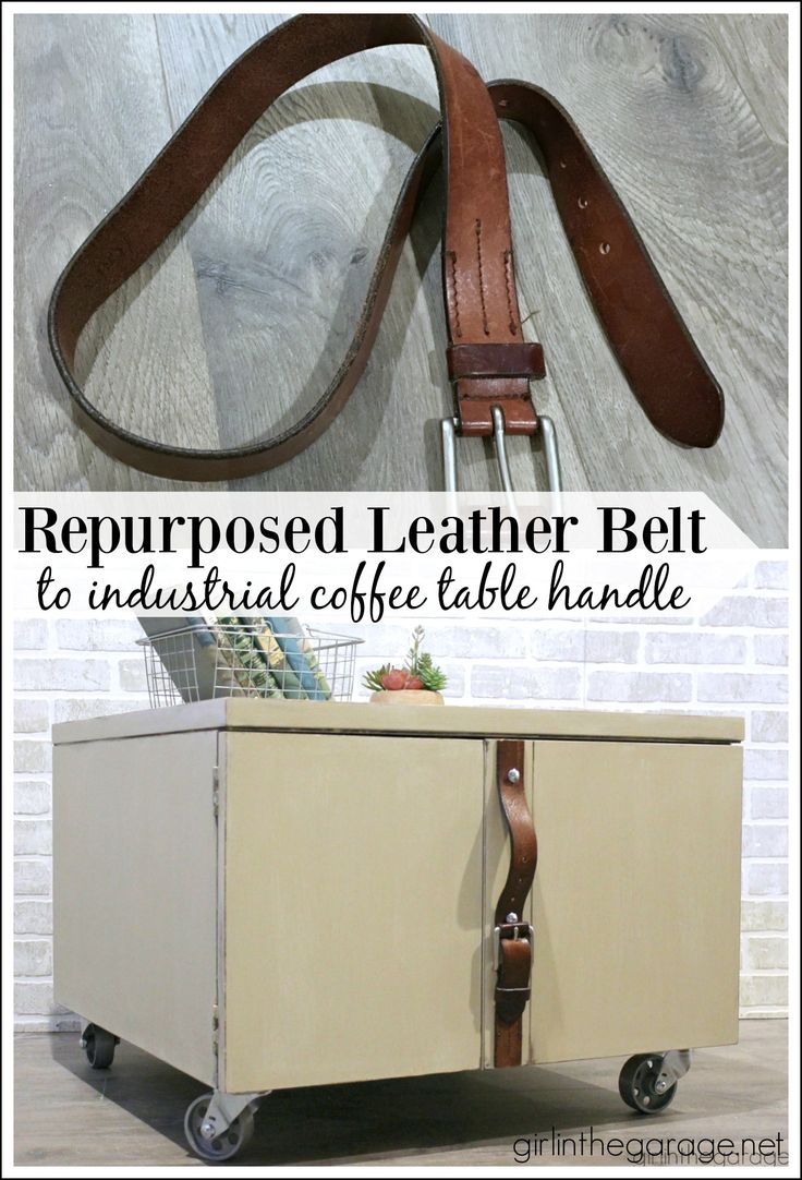 1000 images about blog posts girl in the garage on Repurposed leather belts