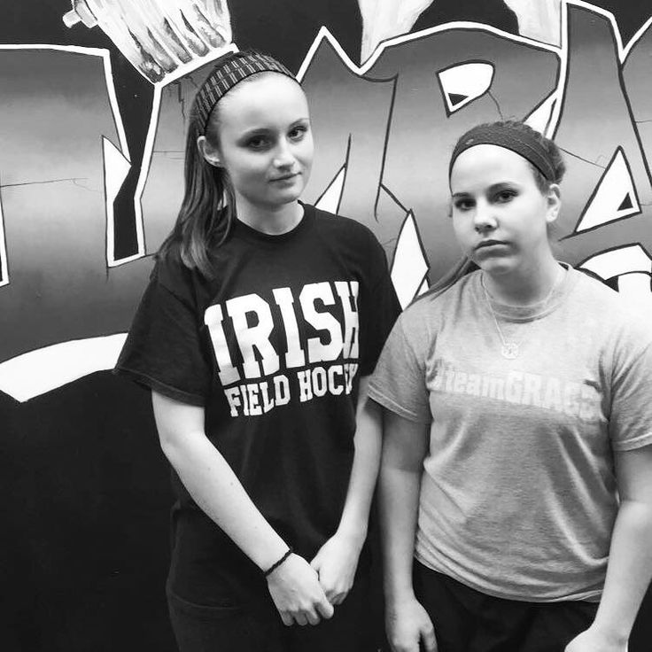 Big shout out to these two training warriors... Camden Catholic HS Field Hockey Players Maddy Edwards and Katie Johns for staying and doing 2 hours in a row yesterday. The girls miss a session last week and decided that they didn't just want to skip an opportunity so they did back to back. While it's not something we usually do I love the commitment and effort. They have come so far in such a short period of time. Love working with them and we are glad they are training with us…